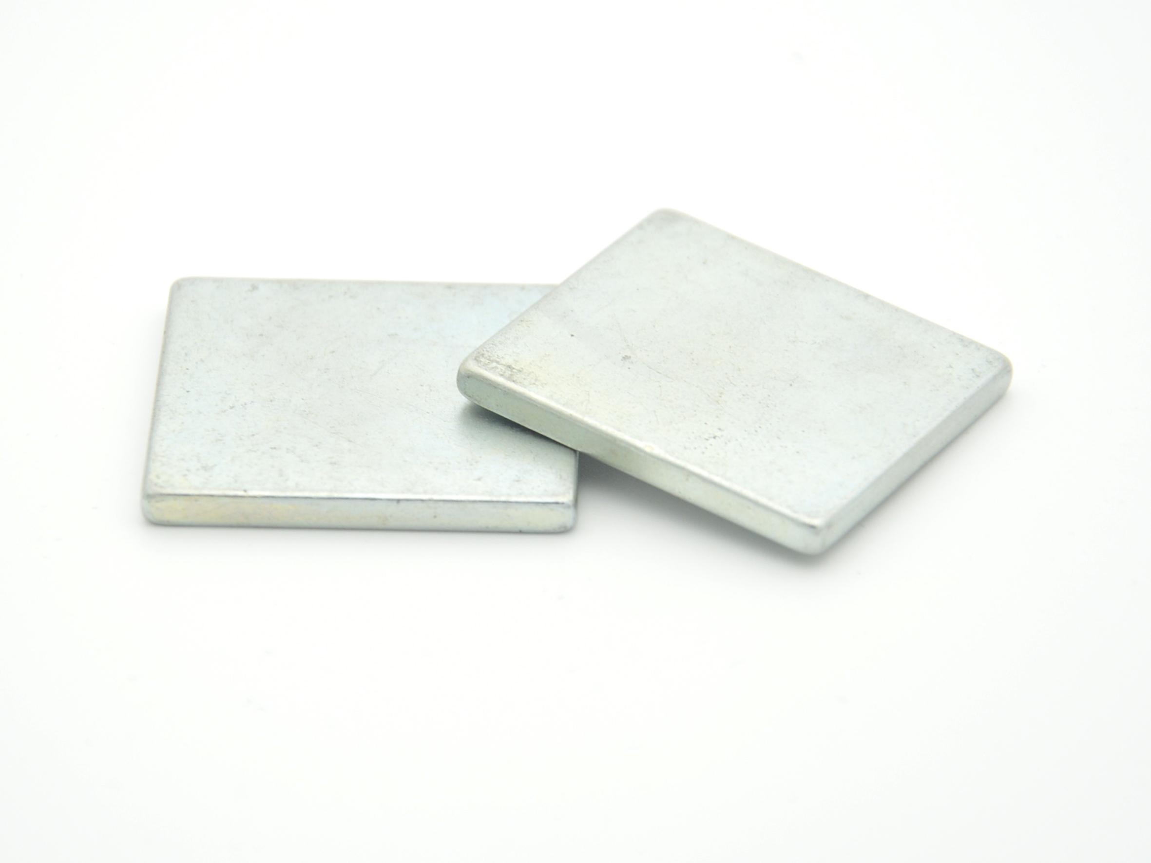 China neodymium (NdFeB) magnets with zinc coating