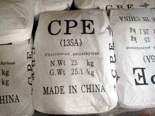 CPE-chlorinated polyethylene135A