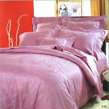Satin with Jacquard Weave Bedding Sets