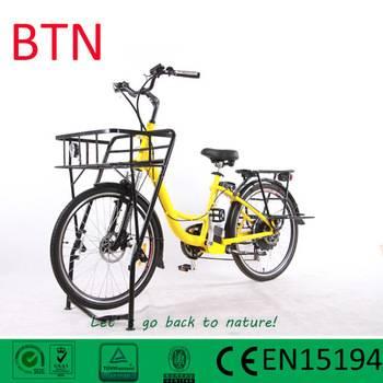 2016 Best Selling 36v 500w electric cargo bike
