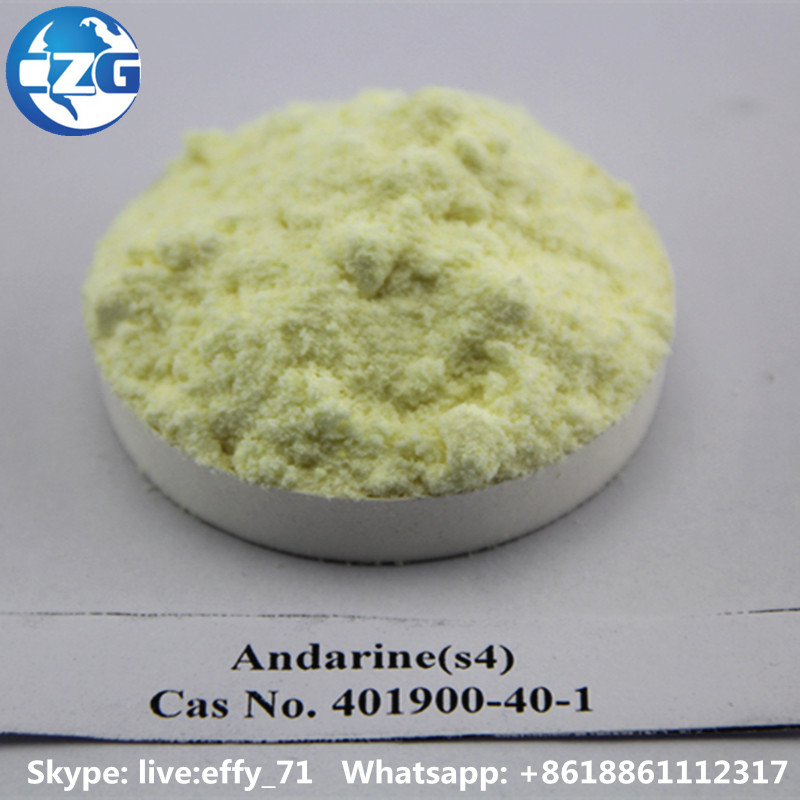 Andarine 99% Purity Bodybuilding SARMS Steroid Powder Andarine S4