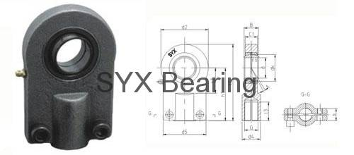 Rod end bearing GIHO-K80DO