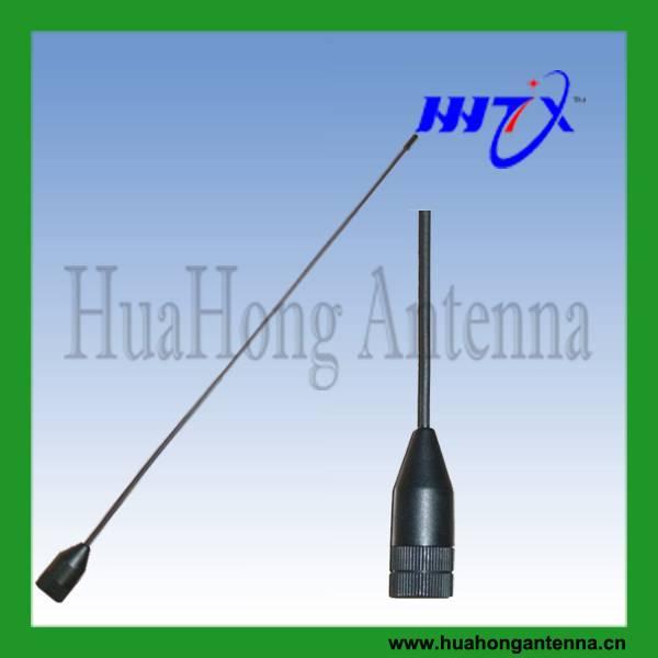 Dual band mobile radio antenna vhf/uhf 144/430MHz 2.15/3dBi 355mm SMA male