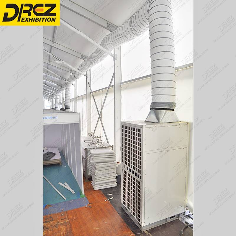 Drez 25hp Central Air Conditioner R22 Air Conditioning Unit for Large Exhibition Tent