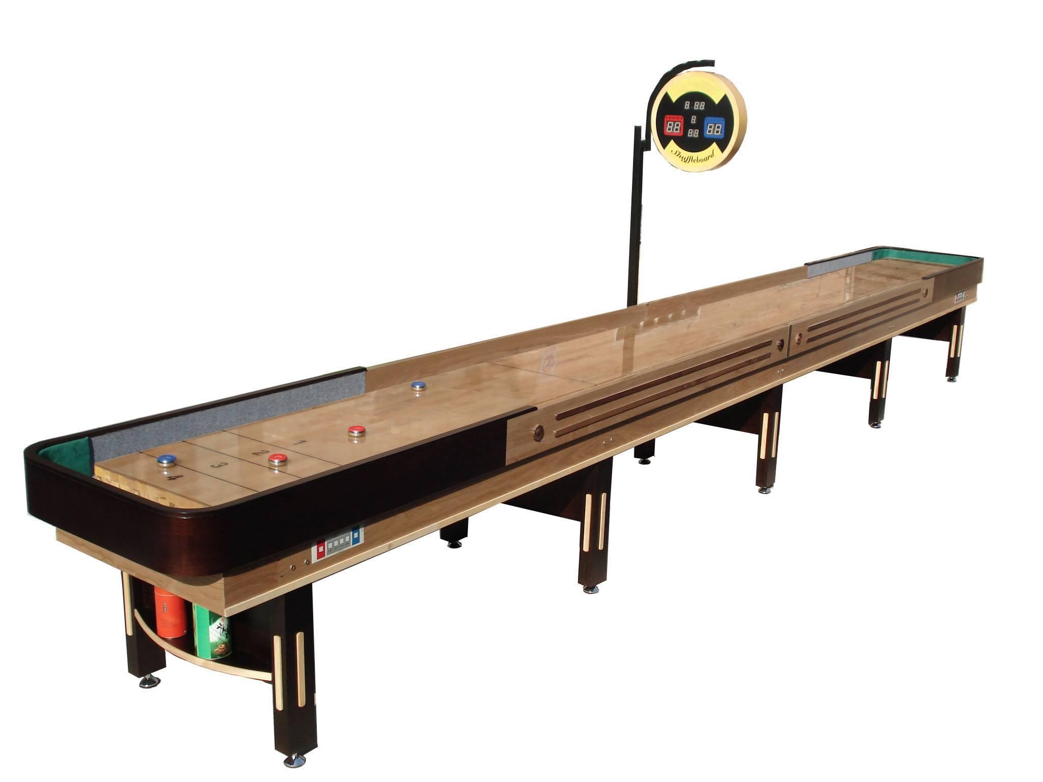 22ft shuffleboard table