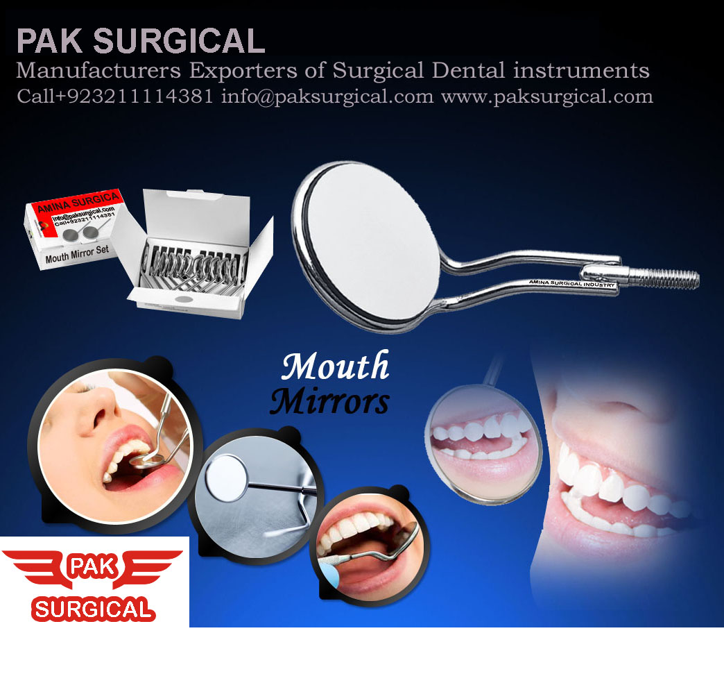 Mouth Mirror Dental instruments Pak surgical