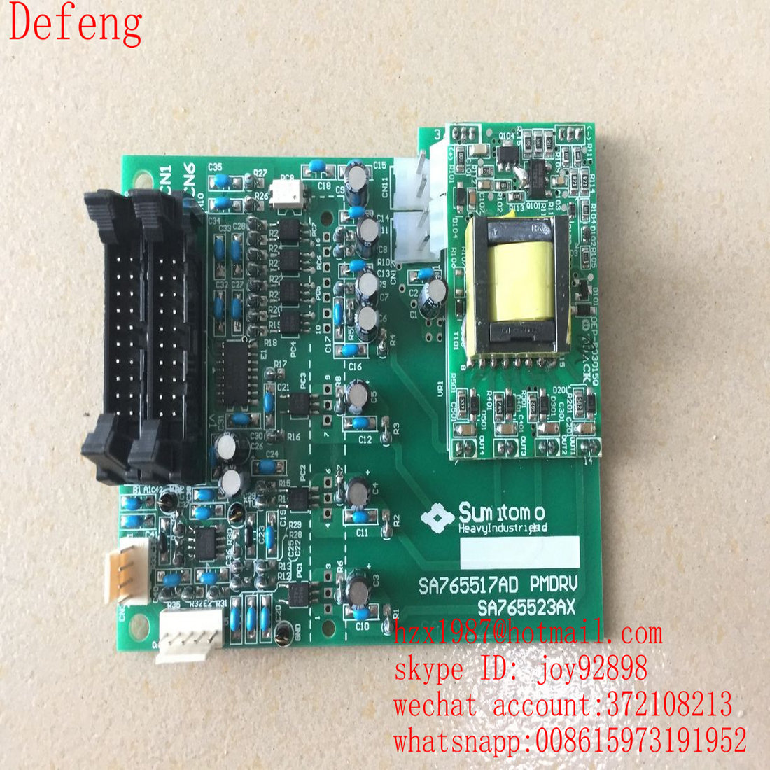 SA765519AD servo driver bpard for sumitomo SE280HD machine