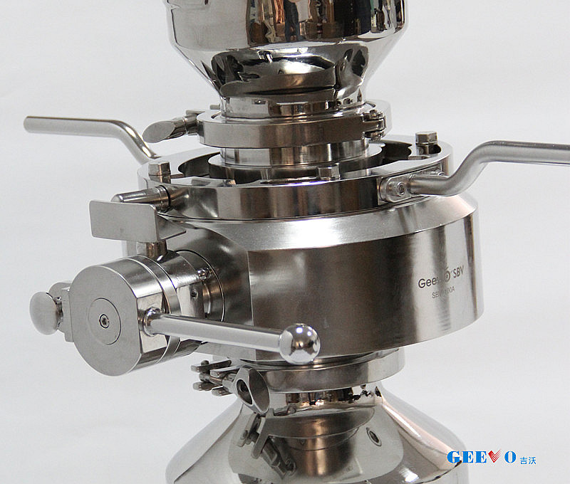 Powder & Aseptic material containment transfer valve