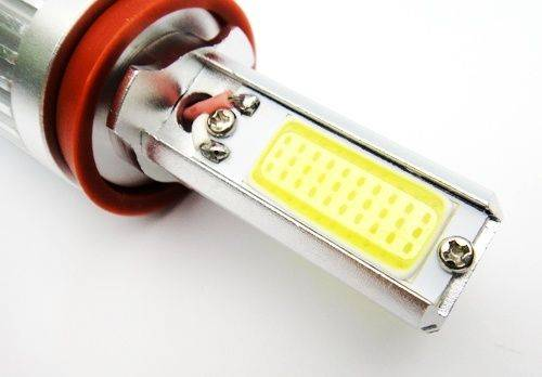 2x H11 H8 Xenon White COB LED Bulb 40W Daytime Running Fog Light DRL Headlight