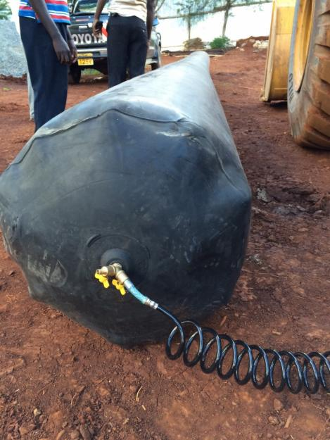 culvert rubber balloon used for making concrete culverts