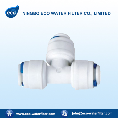 plastic water filter quick fitting