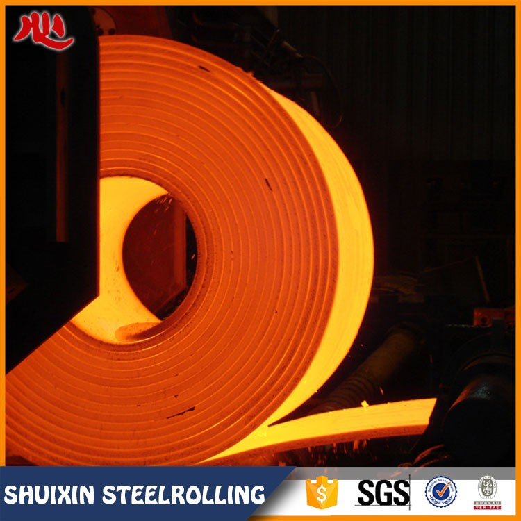 GB black construction Q235 hot rolled steel strips