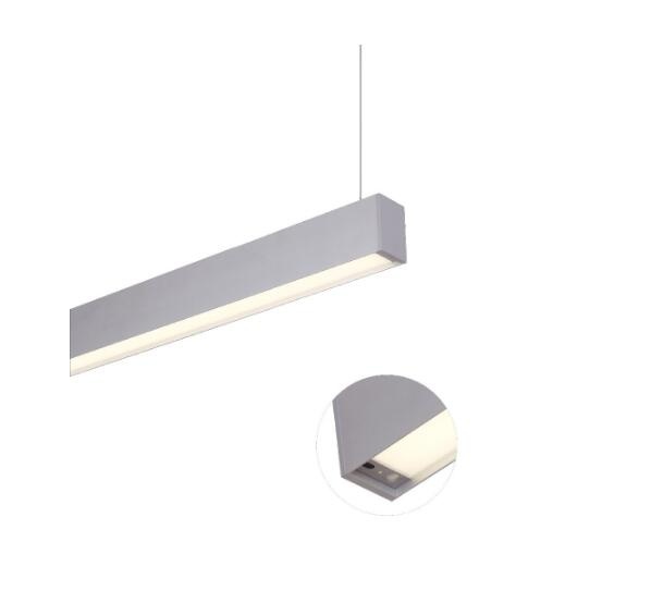 IP20 LED linear light pendant lighting in high quality extruded aluminum alloy low maintain cost