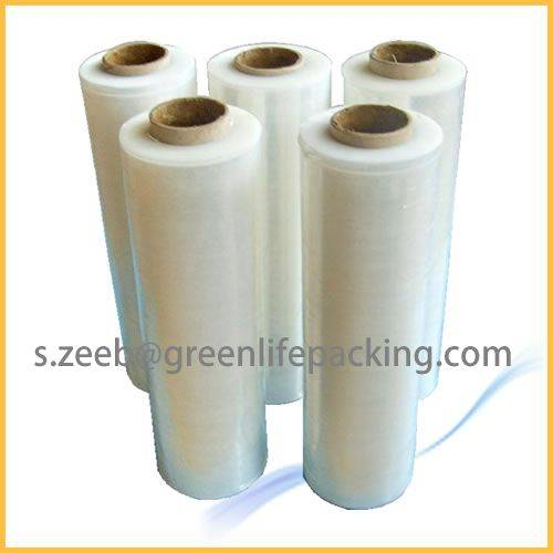 PVC cling film stretch wrap for hand wrapping