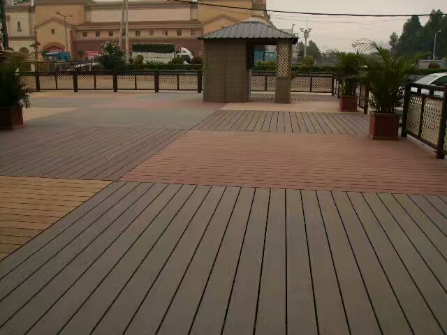 Co-Extrusion WPC Deck Flooring