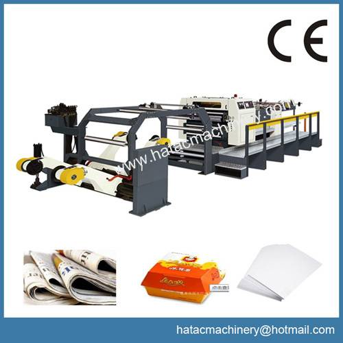 High Production Paperboard Sheeting Machine