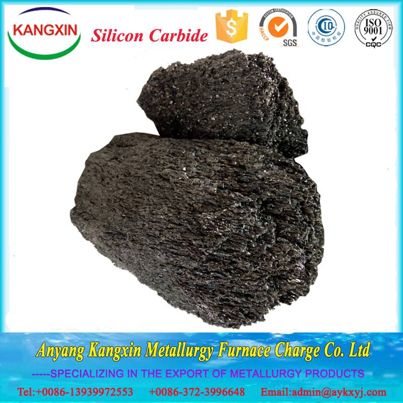 80%- 99.5% Silicon Carbide for Metalllurgical ,refractory and abrasive