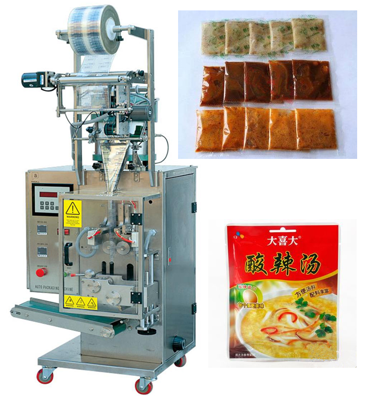 Automatic liquid food packing machine