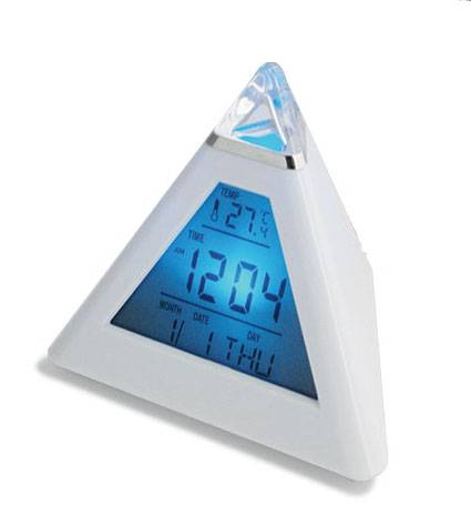 pyramid weather station clcok