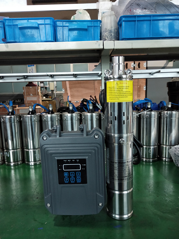 24v dc brushless solar water pumps motor submersible deep well pump for farm agriculture irrigation