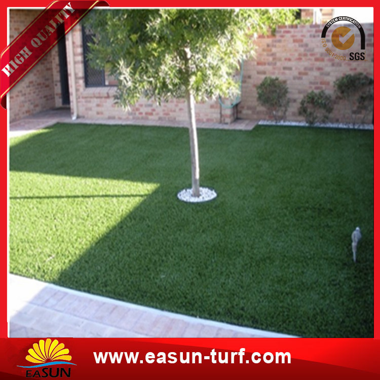 Cheap Chinese artificial grass carpet and sport flooring with drainage design holes-Donut