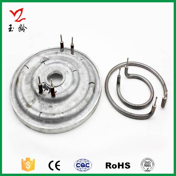 performance die-casting heating element for rice cooker
