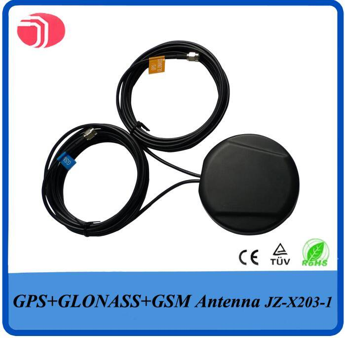 GPS GLONASS GSM antenna with SMA connector