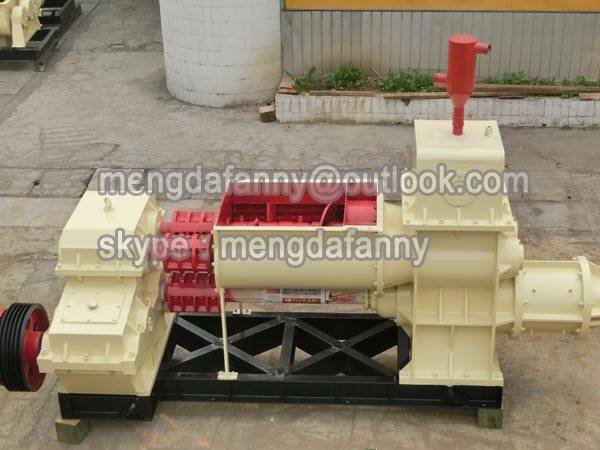 high output gangue /fly ash vacuum brick making machine