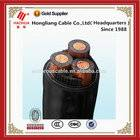 Medium voltage 185mm2 copper cable 3 core cable