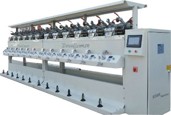 TS008S High speed Soft Winding Machine