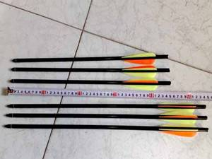 carbon arrows with different length