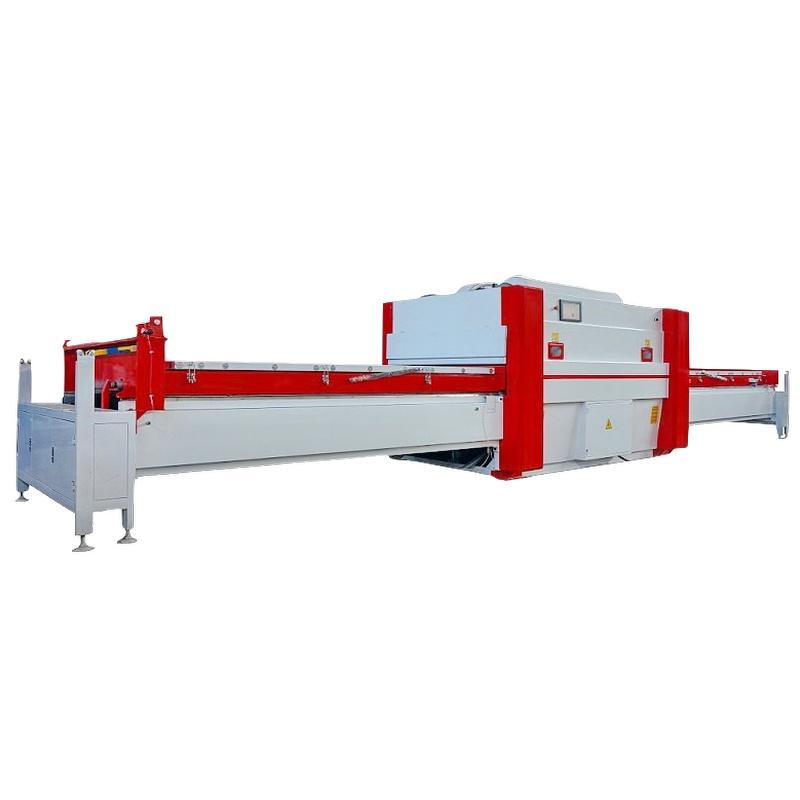 woodworking Veneer vacuum membrane press machine/laminate matt high glossy pvc foil for kitchen