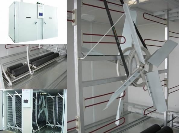 Single stage incubator 19200, 38400, 57600