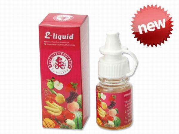 Fruits flavor e liquid for e cigarette.