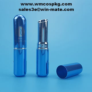 Popular colorful custom aluminium lipstick tube