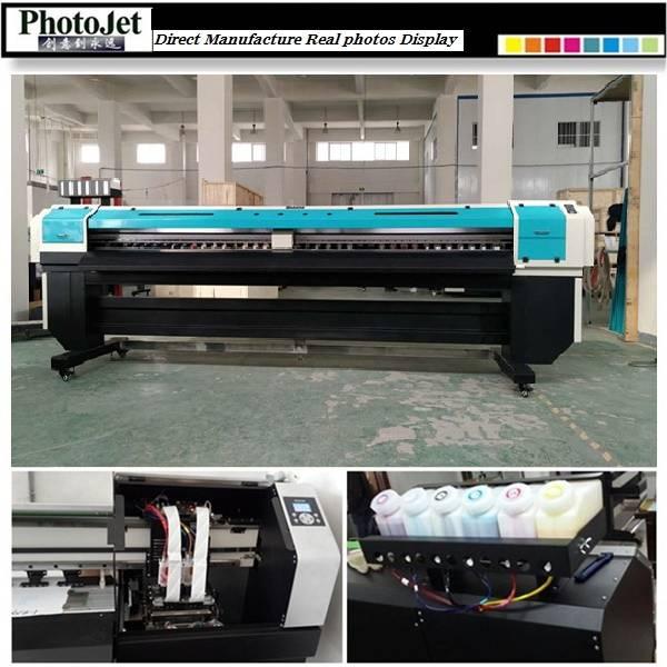 Double print head Wide format printer machine price