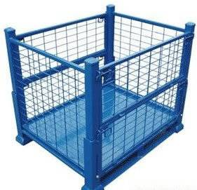 PVC-coated metal stock storage box storage CAGE  (FOR MARKET OR WAREHOUSE) manufacturer direct sale