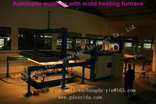 Acrylic Forming Machine/Bathtub Machine/Automatic molding with mold heating furnace