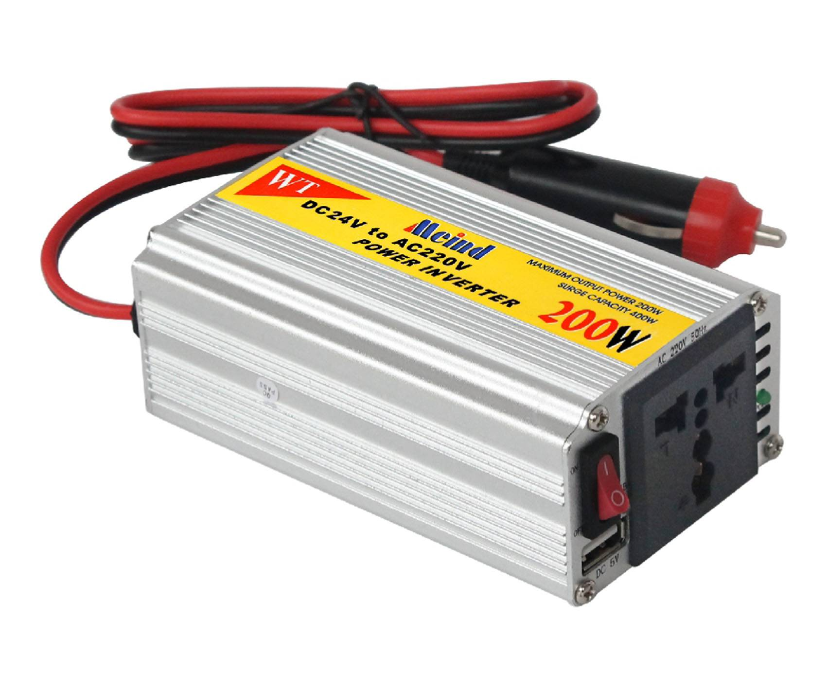 DC TO AC  sine wave car power inverter 200w
