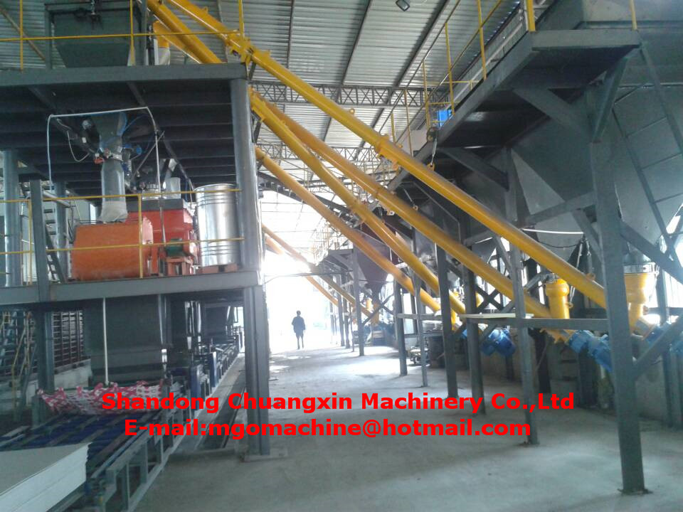 materials used building partition wall machine