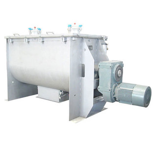 Horizontal Stainless Steel Double Ribbon Blender Mixer,Horizontal double ribbon mixer Powder-liquid