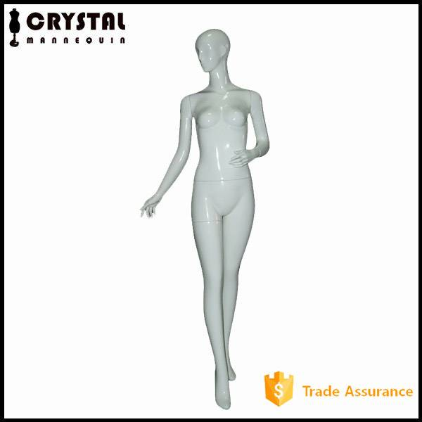 store display abstract head female mannequin