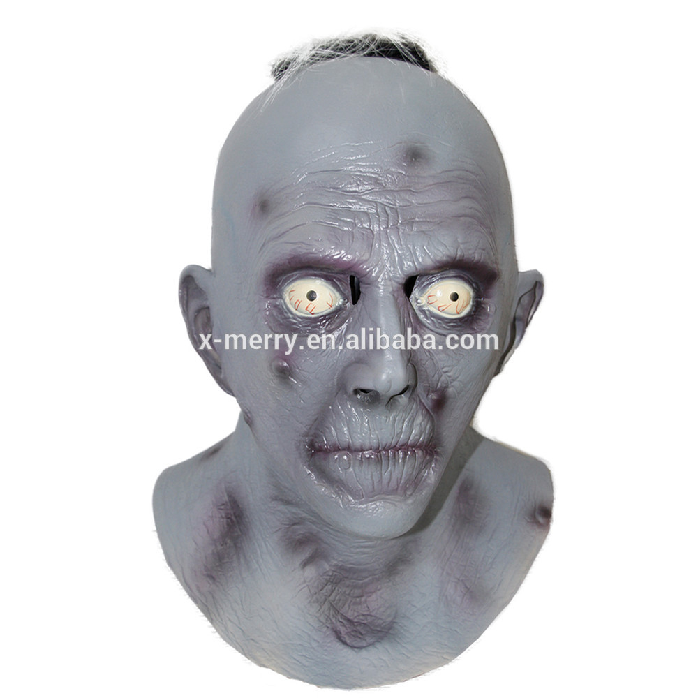 X-MERRY TOY Halloween Mask Adult Infected Zombie Horror Costume Mask x14037