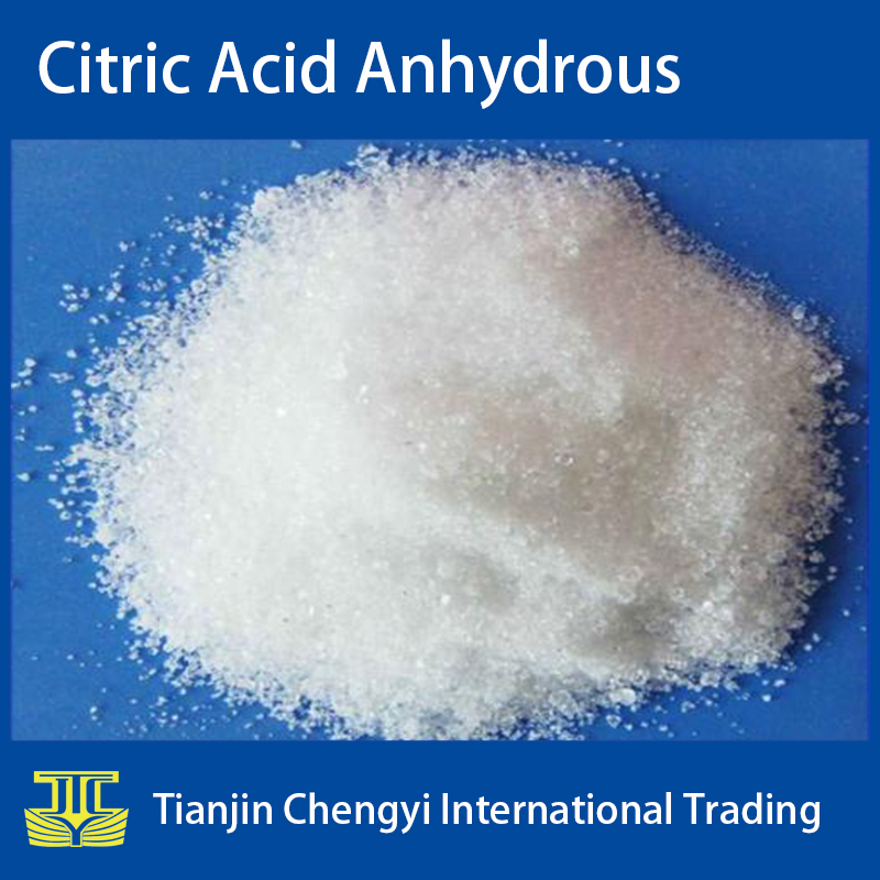 Price of bulk food grade citric acid for anhydrous monohydrate