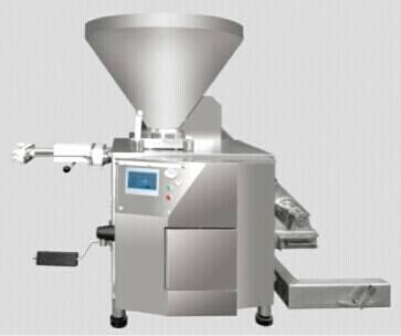automatic sausage processing machine