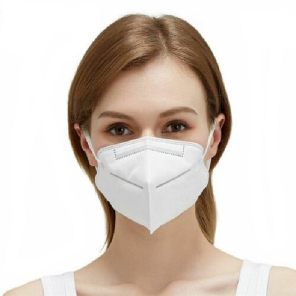 5 Layer KN95 Mask PM2.5 3d Folding Disposable Respiratory Face mask Face Mask in Stock