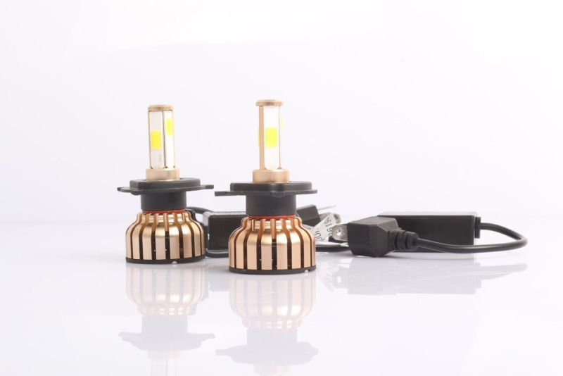 36W 4000lm/Bulb Super Bright COB LED Headlight H7 LED Headlight