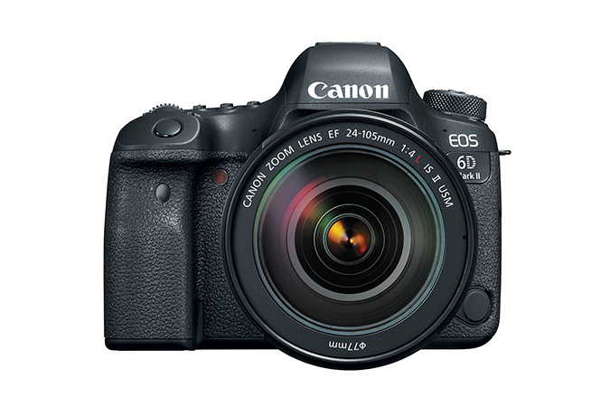 Canon EOS 6D Mark II Digital SLR camera with EF 24-105mm f/4L IS II USM Kit