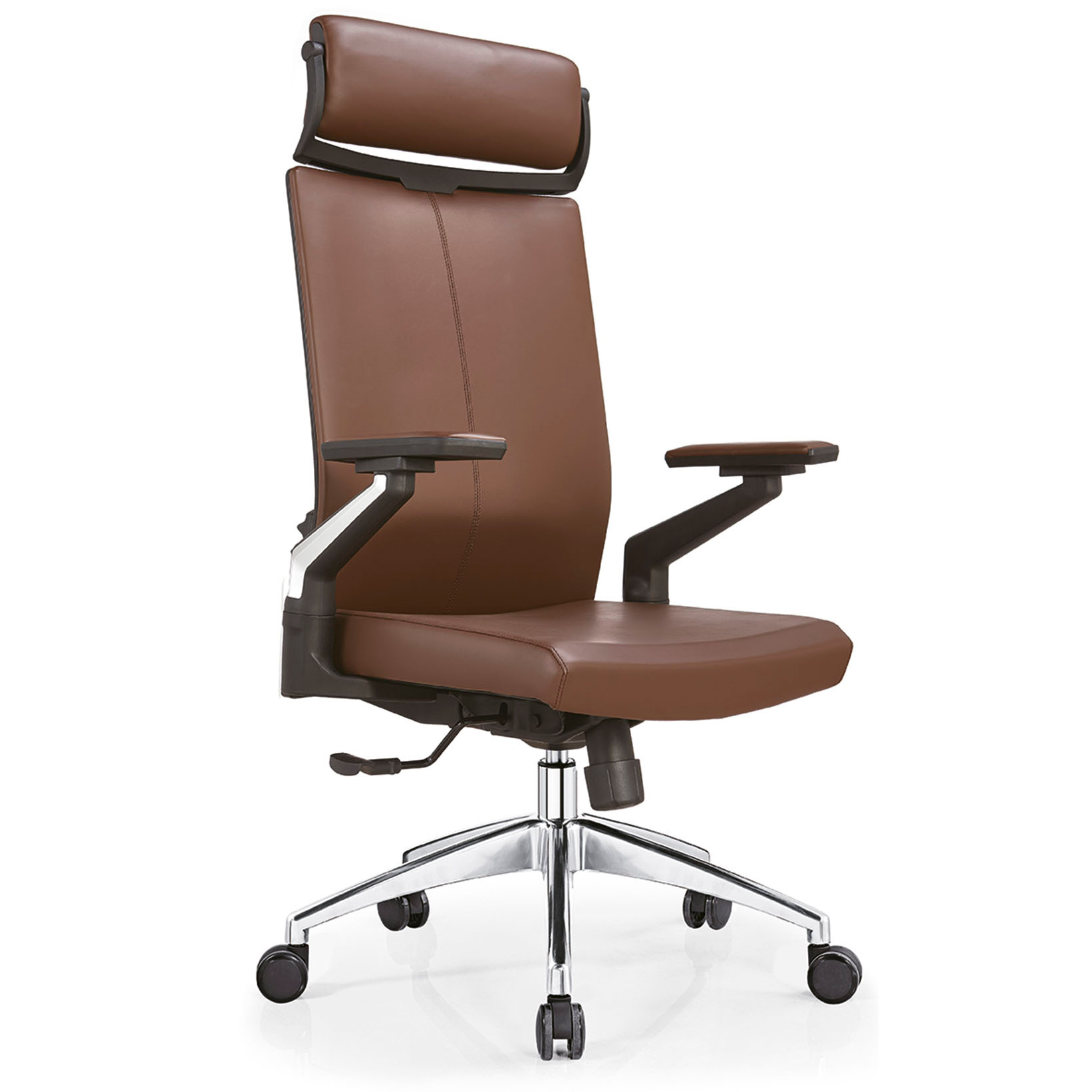 Brown Leather Office Chair Office Furniture Swivel Chair Office Swivel Leather Chair Chengdu Gengxin Furniture Co Ltd Ecplaza Net