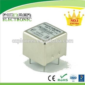 PE1000-3-02 3A 120/250VAC PCB emc noise electrical filter